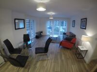 Brand new city centre 2 bedroom apartment to let with parking space available now
