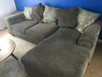 Corner Sofa - Grey