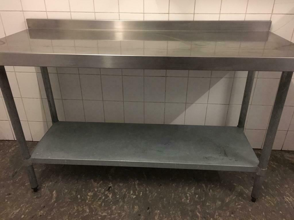 Stainless Steel Kitchen Prep Table In Grantown On Spey Highland Gumtree