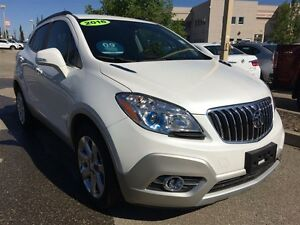 2016 Buick Encore Leather| Heat Seat/Wheel| Sun| Nav| Safety Pkg