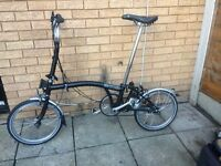 FOLDING BIKE BROMPTON M3L EXCELLENT CONDITION READY TO CRUISE AWAY, used for sale  London