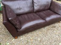 Marks & Spencer abbey top quality leather sofa