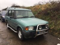 LAND ROVER ES TDI AUTOMATIC DISCOVERY in very clean condition FULL BEIGE LEATHER LOVEKY DRIVING 4x4