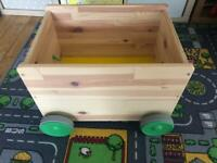 IKEA Flisat Toy Box with wheels
