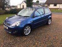 2008 FORD FIESTA 1.2 - SPECIAL EDITION 'BLUE' MODEL - LOW INSURANCE -