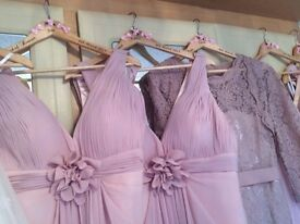 5 Beautiful pink bridesmaid dresses for sale