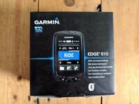 Garmin Edge 810 with European maps, perfect condition in box
