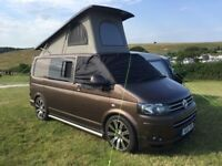 VW T5 campervan high spec poptop