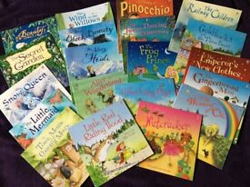 The Usborne Picture Book gift set, comprising 20 beautifully illustrated classic stories