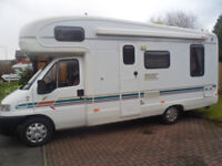 20ft long ducato cheyenne camper 20ft long 36700 miles