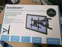 Brand new TV mount for a big TV
