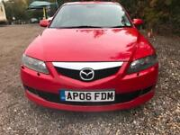 MAZDA 6 2.0d Sport [143] 5dr *FULL MAZDA SERVICE HISTORY*FULLY LOADED WITH EXTRAS* (red) 2006