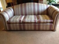 Sofa and two armchairs in excellent condition.