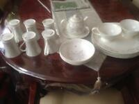 Laura Ashley designer Dinner Set - plates and cups - house clearance