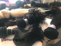 Hair Extension No Glue No bonds