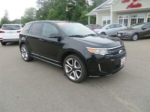 2014 Ford Edge SPORT AWD, NAVIGATION, LEATHER!