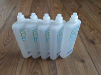 Contact lens solution - 5 bottles