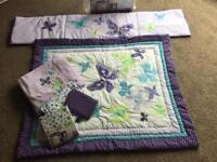 Cot bed bundle set (6 piece) excellent condition. RRP£90