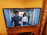 "Samsung 40"" Curved Smart Tv"