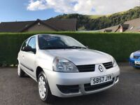 Renault Clio 1.2 Campus 3dr*VERY LOW MILES*ONE LADY OWNER*