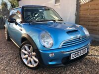 MINI COOPER 1.6 S + FULL SERVICE HISTORY + LOW 66,000 MILES ONLY!