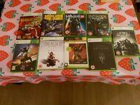 Xbox 360 nine games bundle