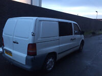 Mercedes Benz Vito Van 6 seater (Removeable) 12 Month MOT Low Mileage