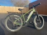 Electric Mountain Bike eBike Fat Tyres 350W 36V 13AH All Terrain Suspension Unisex Bike Brand New