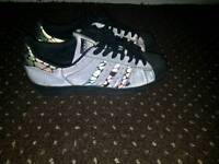 Adidas original superstar reflective. size 10