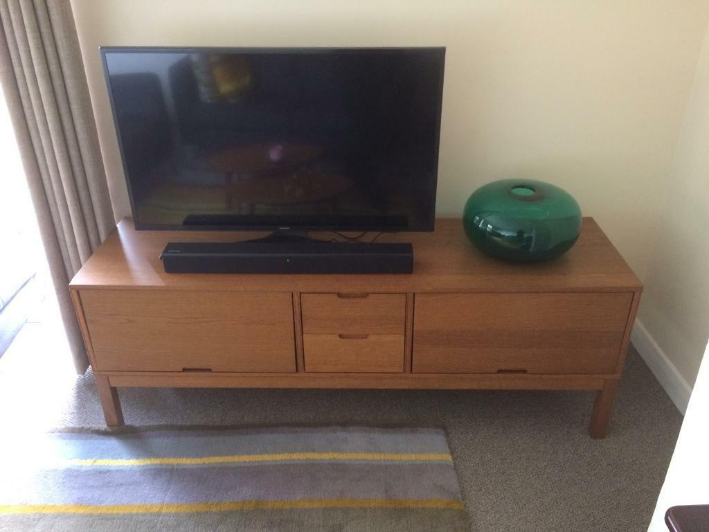 ikea stockholm tv cabinet with 2 drawers in bradford on. Black Bedroom Furniture Sets. Home Design Ideas