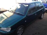 Peugeot 106 zest 2 diesel no mot