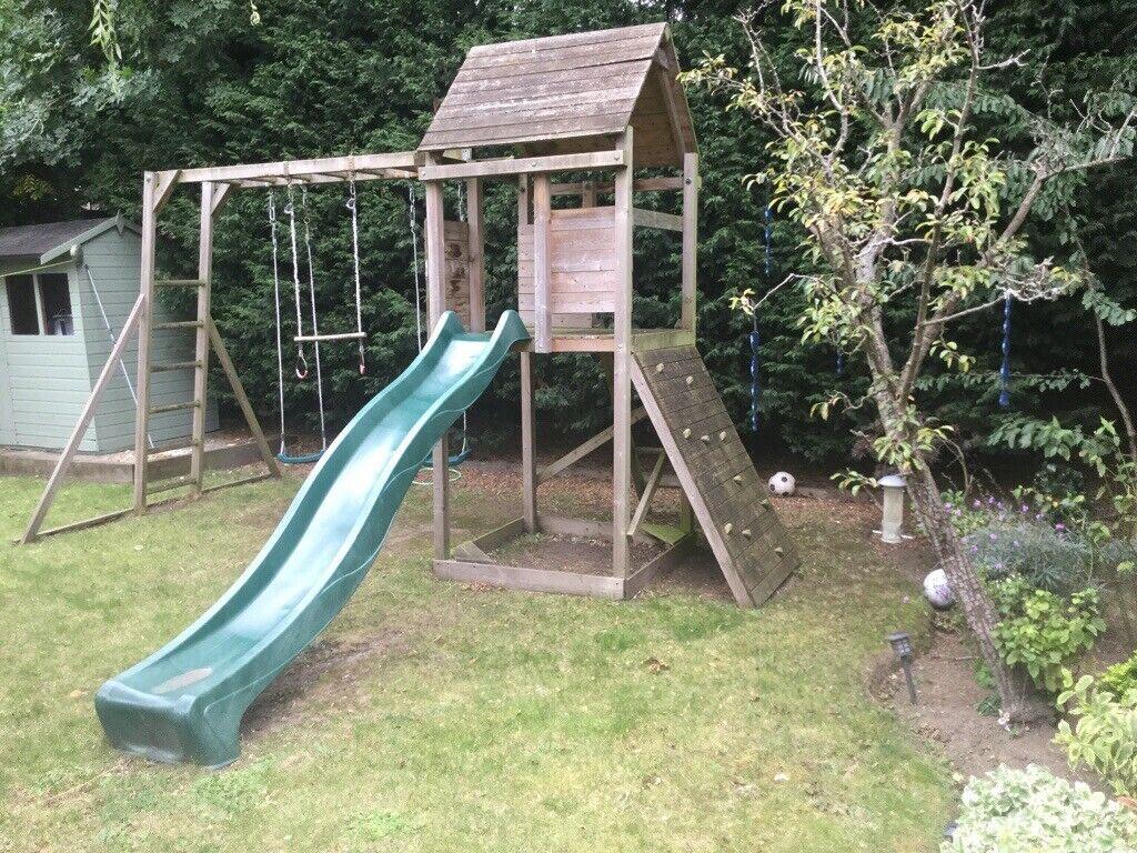 Kids outdoor swing/slide/monkey bars set   in Moortown ...