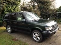 Fallen out of love with......Range Rover P38 2.5 DHSE Auto 2001