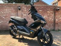 2017 Beeline Pista 50cc moped - Low Mileage