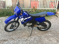 Yamaha DT 125, 2002, Blue, 2 stroke, Fresh top end, DTR 125, Delivery ,
