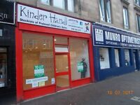 LET AGREED Shop to let on Cathcart Road, Southside of Glasgow, £175 PW