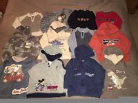 Boys clothes bundle, age 18 months to 2 years, 32 items
