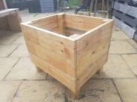 Garden Planter, Home Made from Reclaimed Timber