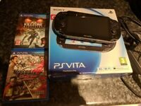 PS Vita for sale. Boxed and comes with Virtua Tennis, Killzone and 16GB Sony PS Vita memory card