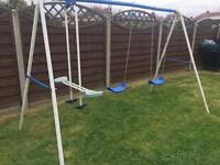 Double Swing & see saw set