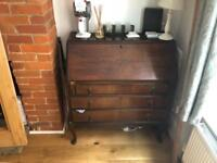 Antique bureau MUST GO - free (or £20 with delivery)