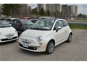 2016 Fiat 500 Lounge - Leather  Sunroof  Bluetooth  Touch Screen