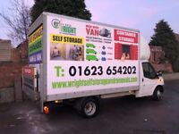 Man With A Van - Removal Services Mansfield Sutton Nottingham