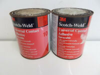 2x 3M Scotch-Weld 10 Universal Contact Adhesive 1L Can
