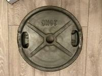 2 x 20kg and 2 x 15kg Olympic weight plates
