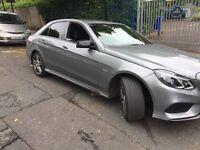 Mercedes E class W212 2014 fully loaded pco