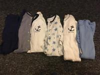 Over 200 items of boys clothing