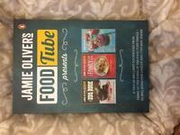 Jamie Oliver food tube recipe books x3