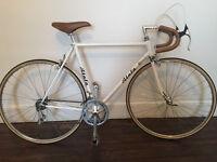 Special 1987 classic road bike leather roadbike men 55cm CUSTOM ( Bianchi )