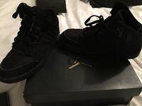 Nike Jordan's Flights black high top